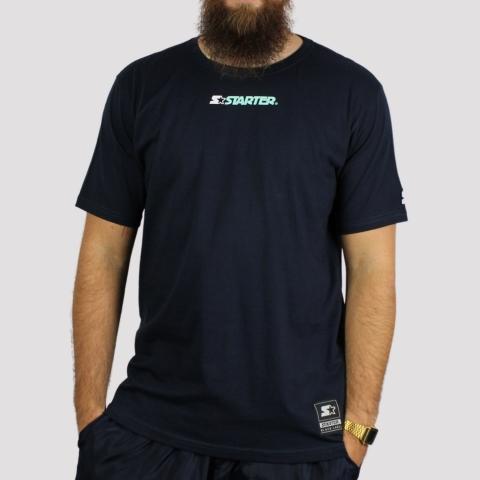Camiseta Starter Front Logo - Marinho
