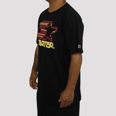 Camiseta Starter Logo - Preta