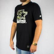 Camiseta Starter Preta/Camuflada