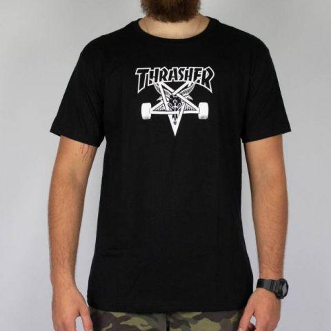 Camiseta Thrasher SkateGoat Preta