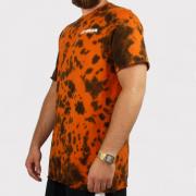 Camiseta Tie Dye Hocks Wash Laranja