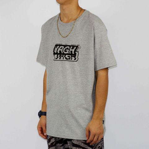 Camiseta Urgh Interferência - Cinza/Preto