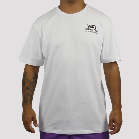 Camiseta Vans Authentic - Branca