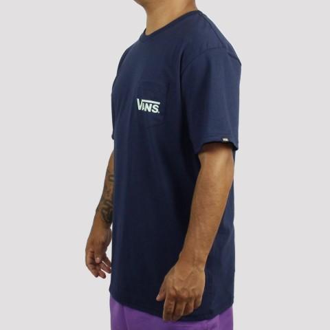 Camiseta Vans Classic Bolso Dress - Blues