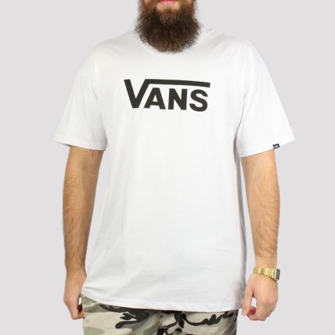 Camiseta Vans Classic - Branco