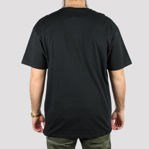 Camiseta Vans Classic Logo - Preto