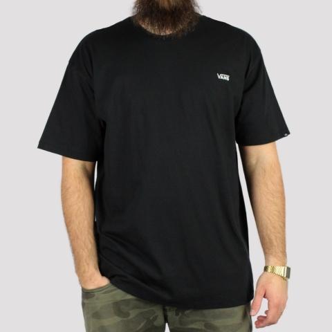 Camiseta Vans Logo Bordado - Preto
