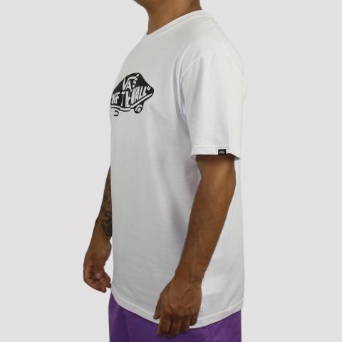 Camiseta Vans Slim - Branca