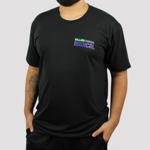 Camiseta WR Logo Colors - Preto