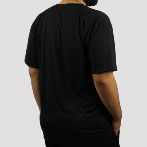 Camiseta WR Logo Retrô - Preto