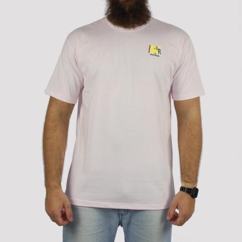 Camiseta WR Logo Retrô - Rosa