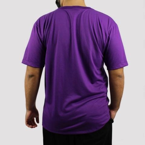 Camiseta WR Logo Retrô - Roxo