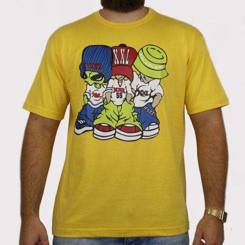 Camiseta XXL Allien - Amarela