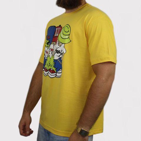 Camiseta XXL Allien (Tamanho Extra) - Amarela
