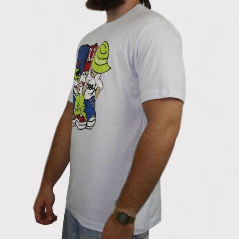 Camiseta XXL Allien - Branca
