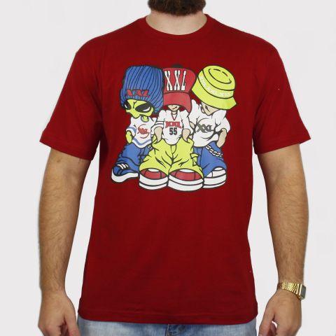 Camiseta XXL Allien - Vinho
