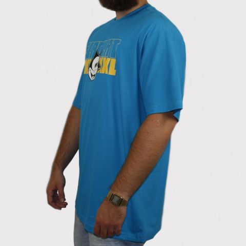 Camiseta XXL Gato Felix - Azul