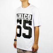 Camiseta XXL Logo Co 55 Branca/Preta