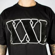 Camiseta XXL Preta Logo