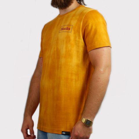 Camisetas Hocks Clark - Mostarda