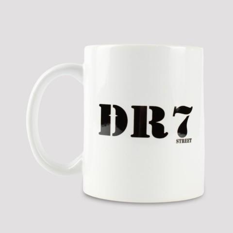 Caneca DR7 Classic Logo - Branco
