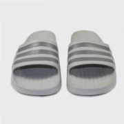 Chinelo Adidas Duramo Slide Cinza