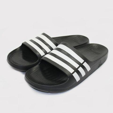 Chinelo Adidas Duramo Slide Preto/Branco