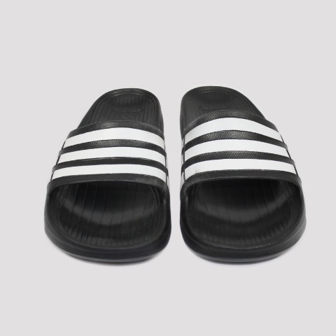 Chinelo Adidas Duramo Slide - Preto/Branco