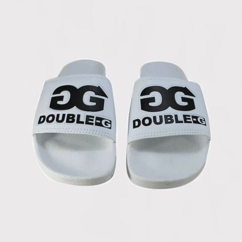 Chinelo Double G Slide Branco