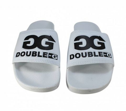 Chinelo Double G Slide Branco