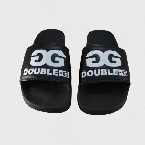 Chinelo Double G Slide Preto