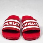 Chinelo Double G Vermelho/Branco