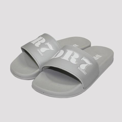 Chinelo DR7 Slide - Cinza/Branco