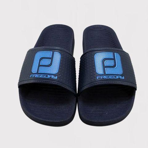 Chinelo Freeday Slide Logo - Azul Marinho