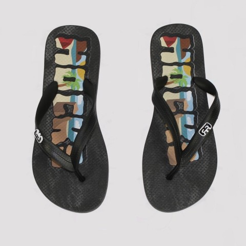 Chinelo Hocks Free - Black