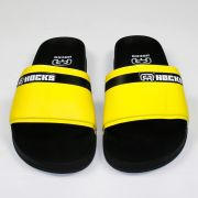 Chinelo Hocks Slide Preto/Amarelo