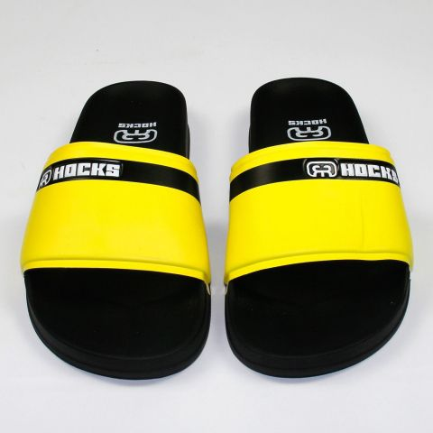 Chinelo Hocks Slide - Preto/Amarelo