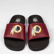 Chinelo NFL Slide Washington Redskins Vermelho/Preto