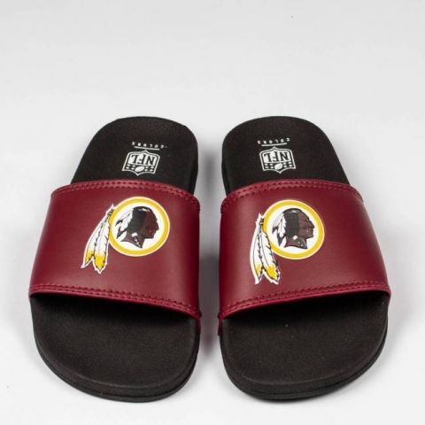 Chinelo NFL Washington Redskins Slide - Vermelho/Preto