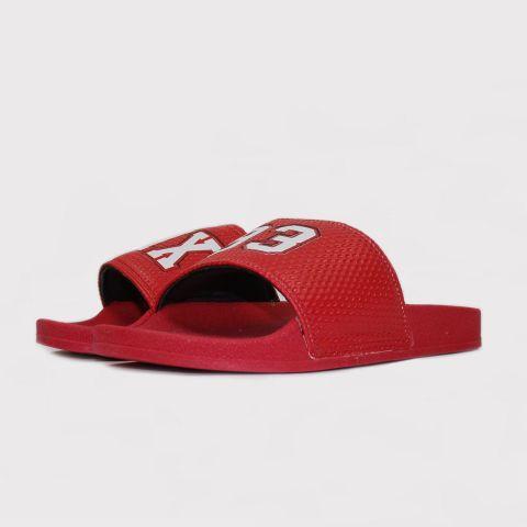 Chinelo Qix 93 Slide - Vermelho/Branco