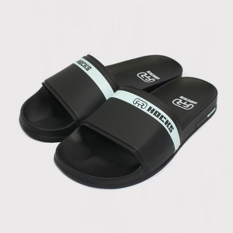 Chinelo Hocks Slide - Black/Mint