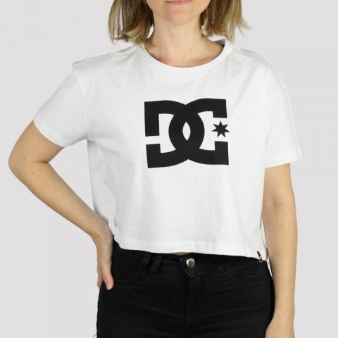 Cropped DC Shoes Star - Branco