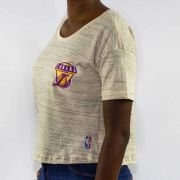 Cropped NBA Lakers Natural Mescla