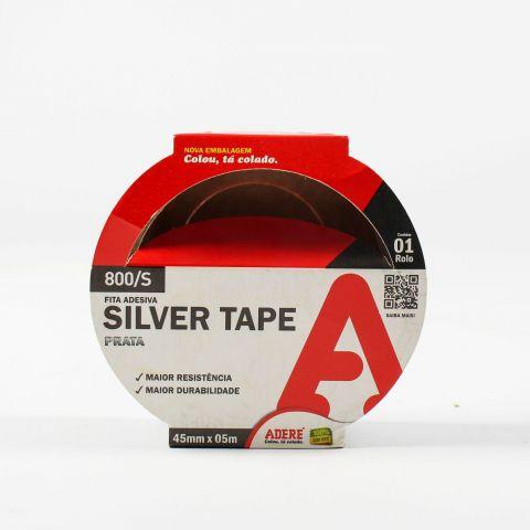 Fita Silver Tape Multiuso Adere 45mm x 05m Prata