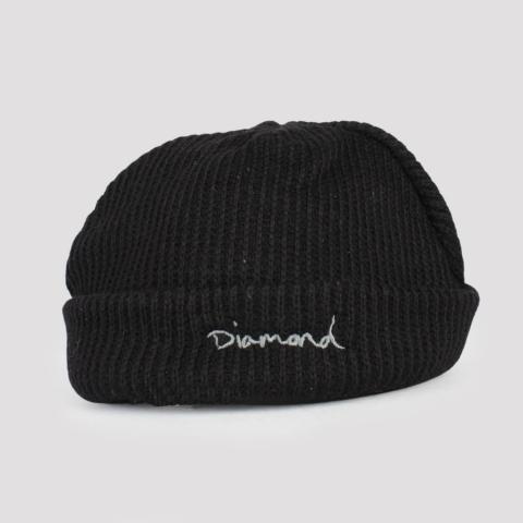 Gorro Diamond Mini Og Script- Black