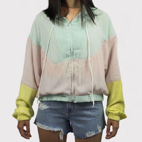 Jaqueta Corta Vento Lerrux Cloud Tactel - Colorido