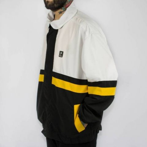 Jaqueta Hocks Curio Formiga Branca/Amarela