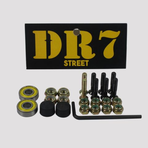 Kit DR7 Acessórios Skate Emergência