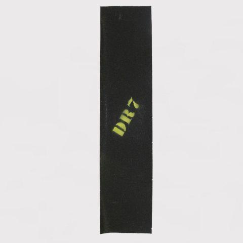 Lixa DR7 Emborrachada Logo - Amarelo