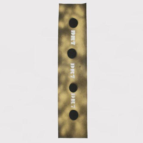 Lixa DR7 Emborrachada Logo - Dourado/Branco